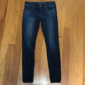 American Eagle Outfitters Jeans - American Eagle Size 4 Long Low Rise Skinny Jeans